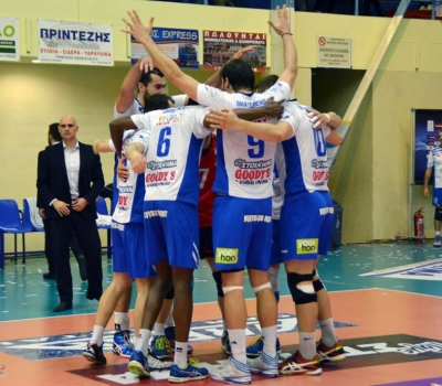 We are the new sponsor of the volleyball team Kifissia Volley A.C.!